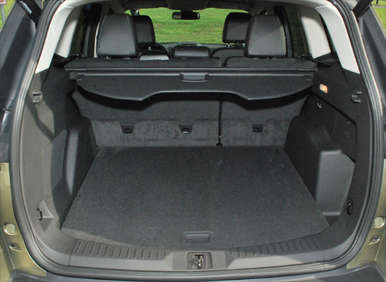 which ford suv has the best trunk autos post. Black Bedroom Furniture Sets. Home Design Ideas