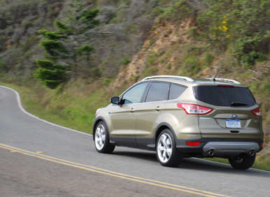 2013 ford escape first drive review. Black Bedroom Furniture Sets. Home Design Ideas