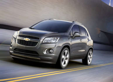 Making Trax: Chevy to Launch Small SUV for Global Markets
