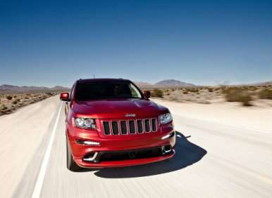 2012 One Lap of America: Jeep Grand Cherokee SRT8
