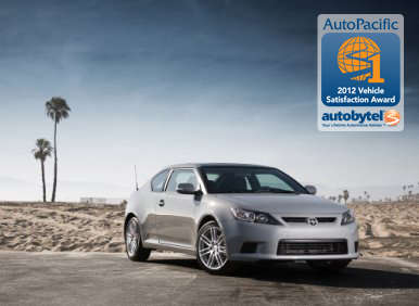 Top-Rated Sporty Car Autobytel & AutoPacific Consumer Award