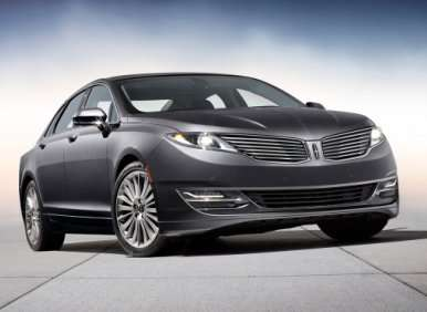 First look: 2013 Lincoln MKZ