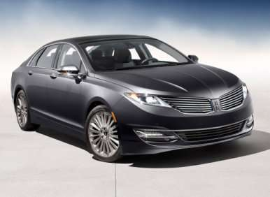 Styling: 2013 Lincoln MKZ