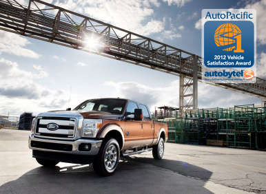 Top-Rated Heavy Duty Pickup Truck Winners: 2012 Ford SuperDuty Trucks: F-250, F-350 & F-450