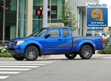 Top-Rated Compact Pickup Truck Winner: 2012 Nissan Frontier