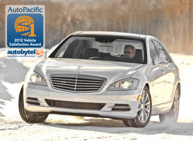 Top-Rated Premium Luxury Car Winner: 2012 Mercedes-Benz S-Class