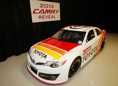 NASCAR News: New Toyota Camry Racer Revealed for 2013
