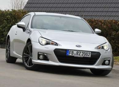 04.  The 2013 Subaru BRZ Is Rear-Wheel Drive