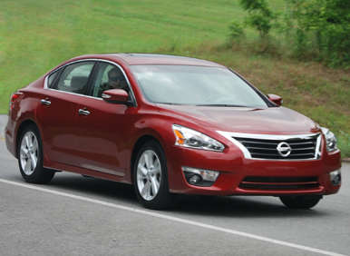 2013 nissan altima first drive review. Black Bedroom Furniture Sets. Home Design Ideas