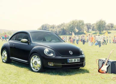 Volkswagen Hits All the Right Chords with 2013 Beetle Fender Edition