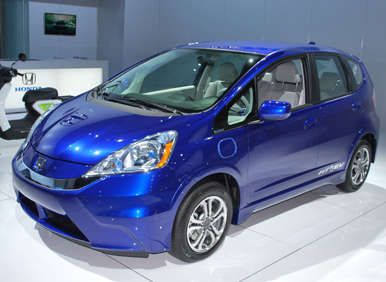 2013 Honda Fit EV Gets Official MPGe Rating from EPA