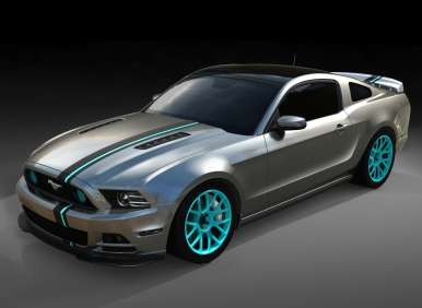 Ford Mustang GT SEMA Build Gets into High Gear