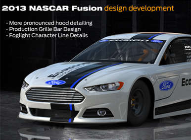 2013 Ford Fusion One Step Closer to the 2013 Daytona 500