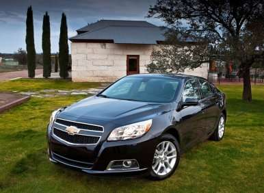 GM Provides MSRP Pricing Details for Full 2013 Chevrolet Malibu Lineup