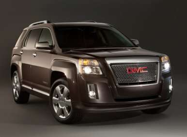 2013 GMC Terrain Denali Priced from $35,350
