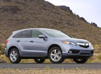 04.  The 2013 Acura RDX Swaps SH-AWD For A More Traditional System