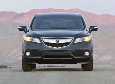 09.  The 2013 Acura RDX Emphasizes Ride Comfort