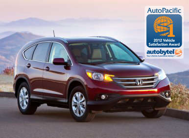 Top-Rated Mid-Size Crossover SUV Autobytel & AutoPacific Consumer Award