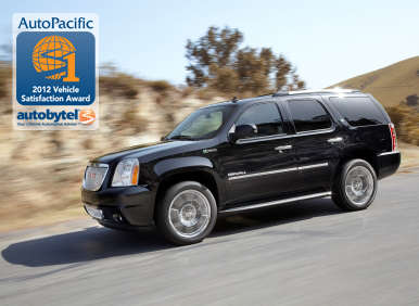 Top-Rated Large SUV Autobytel & AutoPacific Consumer Award