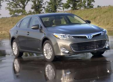 All-new 2013 Toyota Avalon to Offer Hybrid Powertrain
