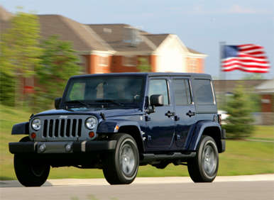 2012 Jeep Wrangler Freedom Edition Celebrates America