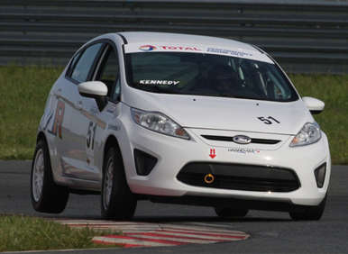 Ford Fiesta Dominates Watkins Glen for First Grand-Am B-Spec Win
