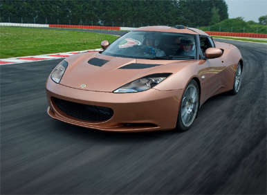 Lotus Introduces Range-Extended Evora 414E Hybrid at Goodwood Festival of Speed