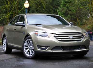 2013 Ford Taurus Four-Cylinder EcoBoost First Drive Review