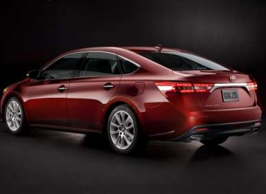 2013 Toyota Avalon Debut: Notable Features
