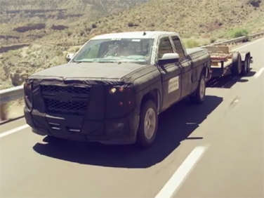 2014 Chevrolet Silverado Teased During Final Testing
