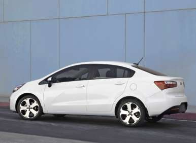 2013 Kia Rio Remains Excellent Value in Compact Vehicle Class