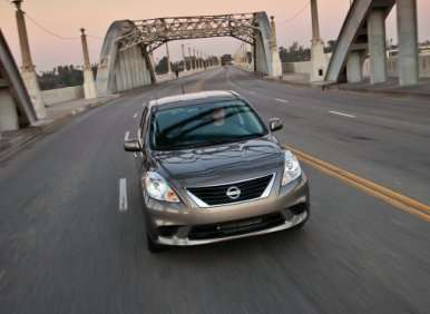 2013 Nissan Versa vs. Its Rivals