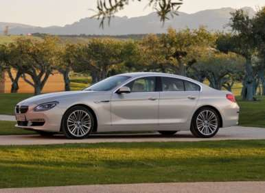 01.  The 2013 BMW 6-Series Gran Coupe Is A Fresh Styling Exercise