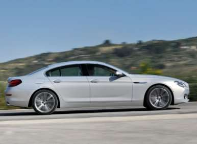 03.  The 2013 BMW 6 Series Gran Coupe Will Offer Two Engine Options