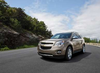 2012 Chevrolet Equinox Delivers Superior Style, Mileage in Compact SUV Class