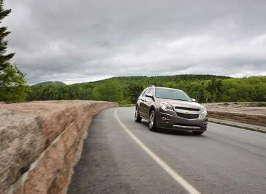 2013 Chevy Equinox: Some Entertaining Enhancements
