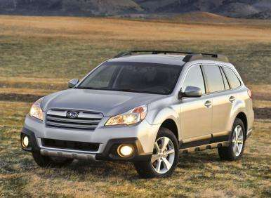 New York Auto Show Preview: Restyled 2013 Subaru Outback Gets 30 MPG