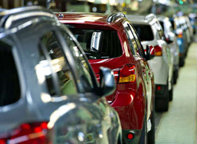 Production of 2013 Mitsubishi Outlander Sport Kicks Off in Normal, Ill.