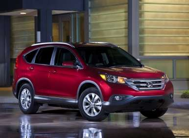 Fast Five: Best-selling SUVs of 2012