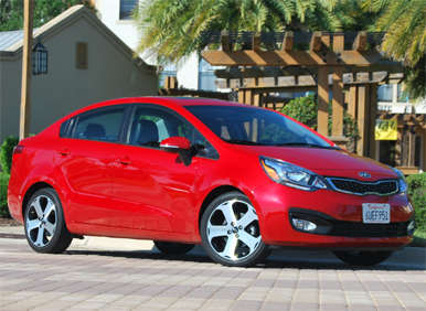 Fast Five: Best Small Sedans of 2012