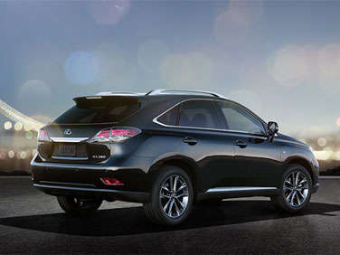 06.  The 2013 Lexus RX Can Be Customized Via Options Packages