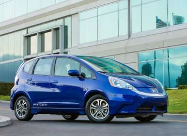 First Look: 2013 Honda Fit EV