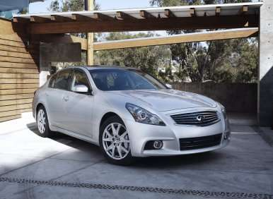 July Record Breakers: Infiniti G Sedan