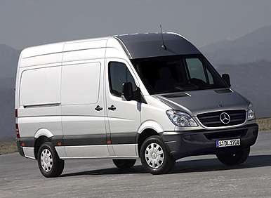 July Record Breakers: Mercedes-Benz Sprinter Van