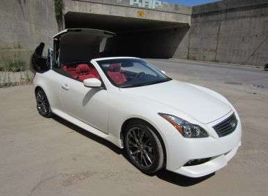 2013 Infiniti IPL G Convertible: Pricing and Trim Levels