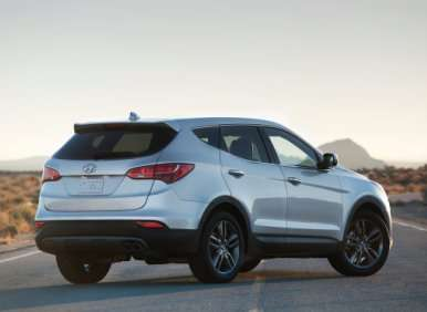 02.  The 2013 Hyundai Santa Fe Sport Rides On A Lighter Platform