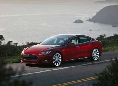 01.  The 2012 Tesla Model S Is All-Electric