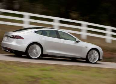 04.  The 2012 Tesla Model S Is Rear-Engined