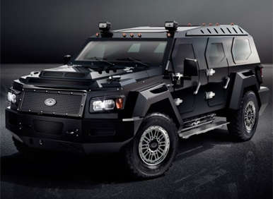 Conquest Vehicles Unveils New Evade SUV