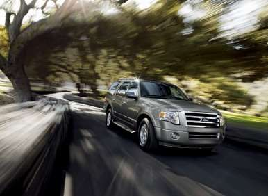 Best 7 Passenger Vehicles: #3 2012 Ford Expedition